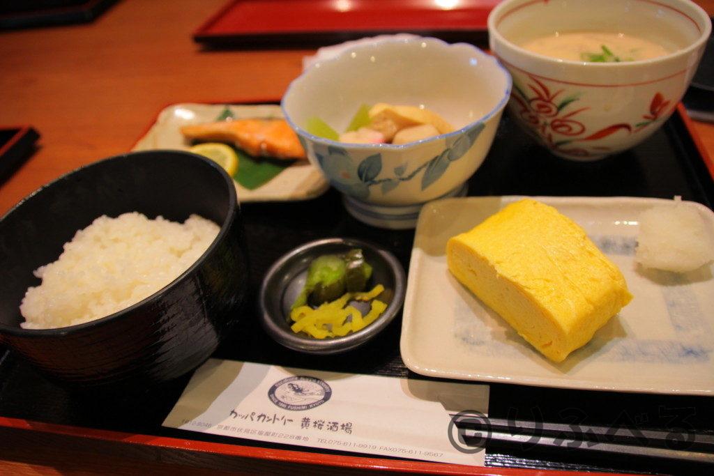 京都黄桜酒場出し巻き和定食