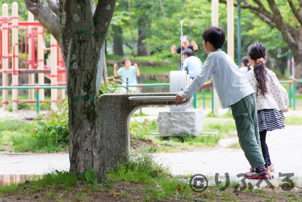 膳所城跡公園の遊具